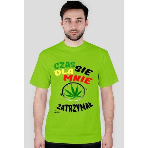 rastaway T-shirt dla mnie czas się zatrzymał