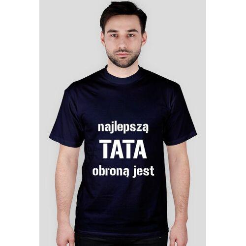 """ArtPasje Koszulka """"najlepszą obroną jest tata"""""""