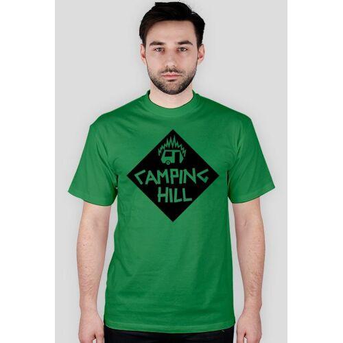 campinghill Camping hill unisex logo czarne