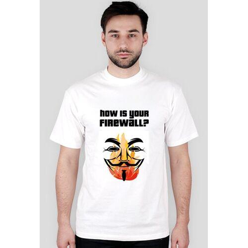 SocialMe Firewall t-shirt męski