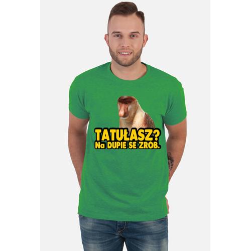 e-MOUSE Tatułasz? koszulka męska