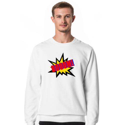 Pomysl-prezent Boom ! ciepła bluza męska