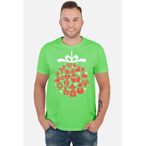 BtD świąteczna bąbka choinkowa - mikołaj - choinka - zima - śnieg - prezent - święta - boże narodzenie -