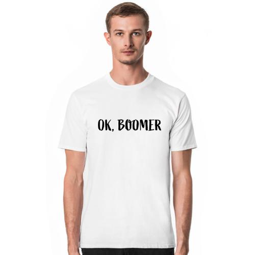 okboomer Ok, boomer - koszulka biała