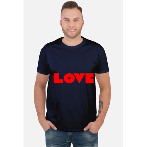 wydrukowane Love - dla niego