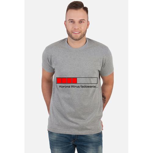 Skovyrnie T-shirt korona wirus ładowanie
