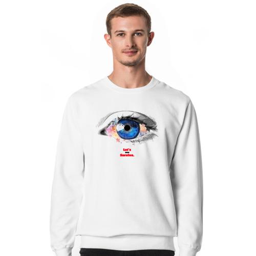letssurvive Eye medic - kupując bluzę wspomagasz walkę z covid-19 w postaci 22 zł!