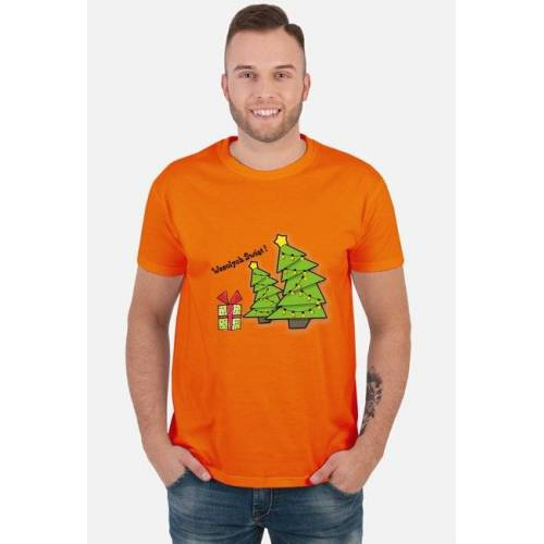 pixie Koszulka męska - nadruk bożonarodzeniowy