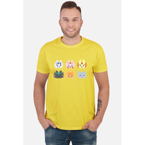 positivia Koszulka męska kartridże