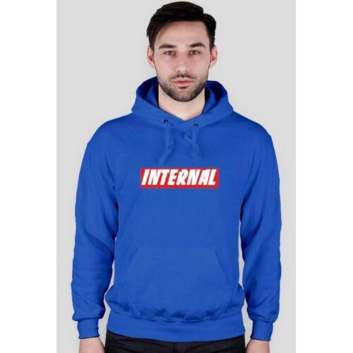 Internal Hoodie box logo internal