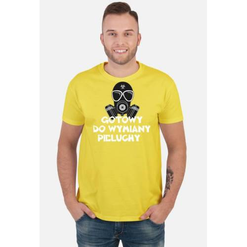 GucioSHOP Koszulka gotowy do wymiany pieluchy