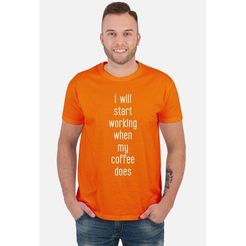 brulion Koszulka motywacyjna - kawa.