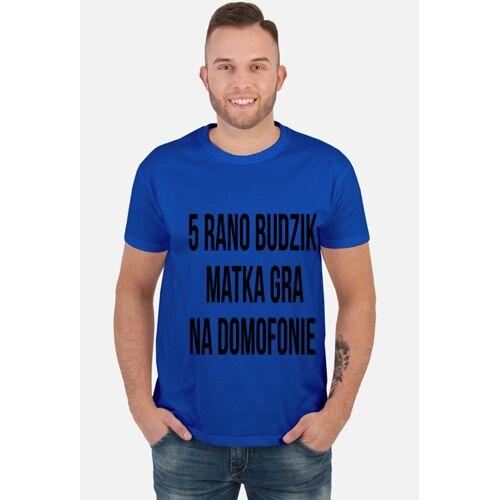 """ZaluzjaSolonez T-shirt """"5 rano budzik"""""""