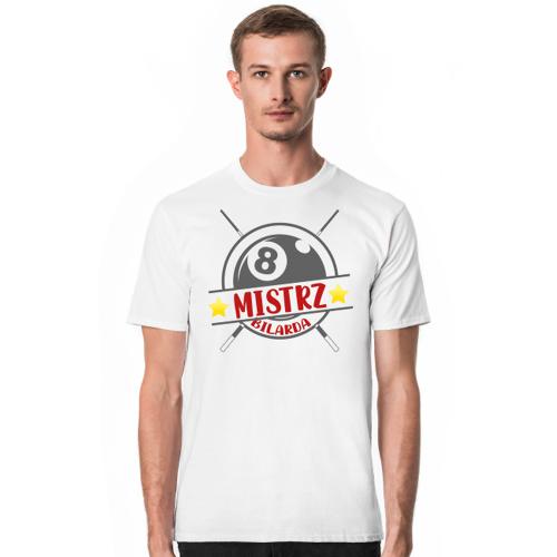 Bilard. prezent dla bilardzisty. bilard warszawa. koszulka dla bilardzisty