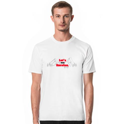 letssurvive Medic basic - kupując koszulkę wspomagasz walkę z covid-19 w postaci 10 zł!