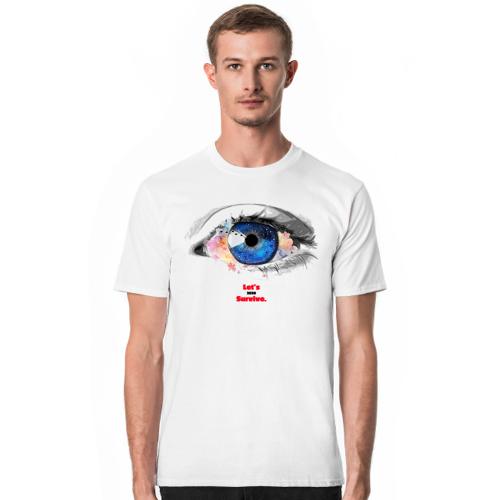 letssurvive Eye medic - kupując koszulkę wspomagasz walkę z covid-19 w postaci 10 zł!