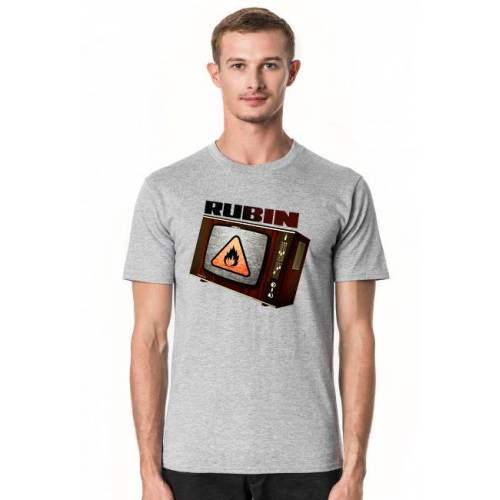 kiedys_to_bylo Telewizor rubin   t-shirt   prl