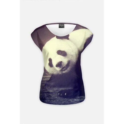 animalsandfriends Panda bear woman