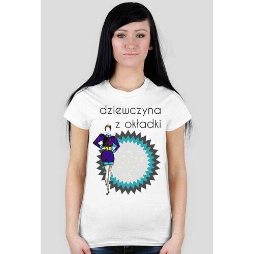 olborska Dziewczyna z okładki - damski t-shirt