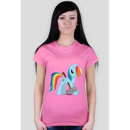 CityShop Koszulka damska z kucykiem