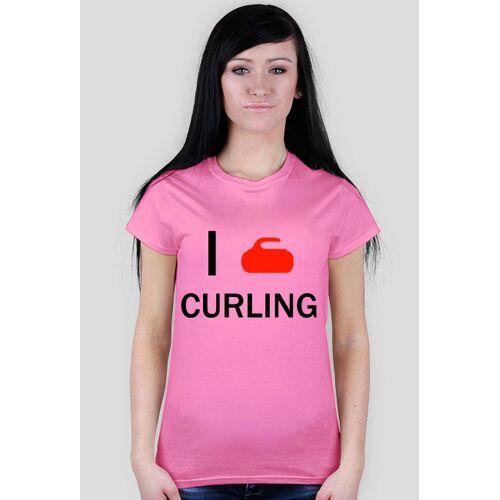 curlingshirt I love curling