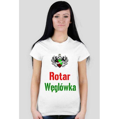 RotarWeglowka Koszulka kibica damska