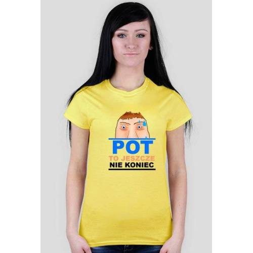 running Pot girl