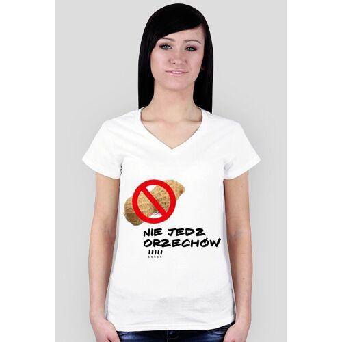 Kamileq Nie jedz orzechów !!! - koszulka