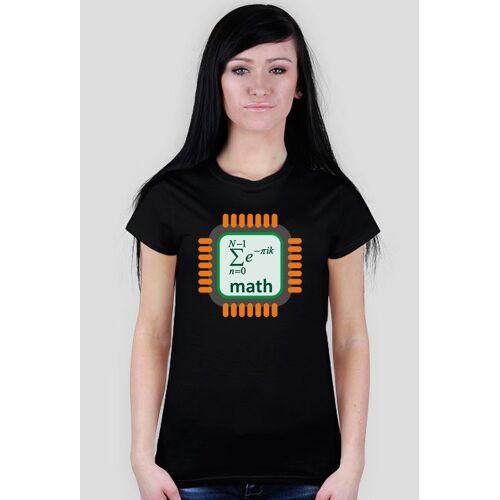 koszulkiinformatyczne Koszulka matematyczki serce [women]