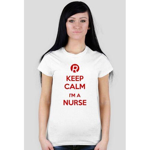 ratowniczy Keep calm i'm a nurse red