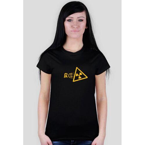 RadioactiveTV T-shirt damski radioactive mk ii