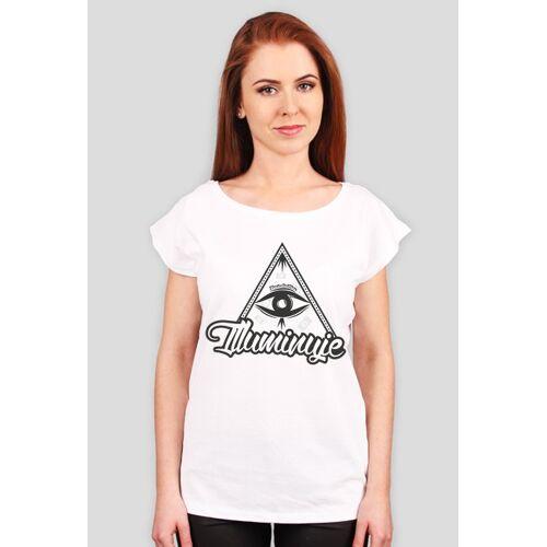 illumination Damska koszulka - illuminuje - sklep odzieżowy illumiantion wear