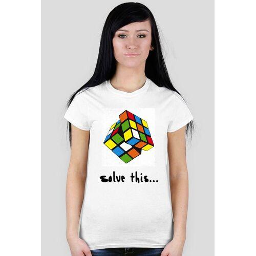kostkirubika Damska kostka 3x3x3 - solve this...