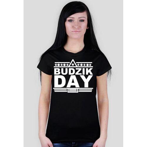 "BudzikWear Koszulka ""budzik day"" damska"