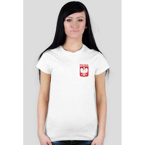 polska Koszulka kibica z własnym numerem i nazwiskiem (+ flaga gratis)