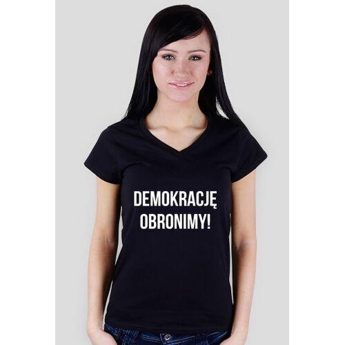 obronademokracji Demokrację obronimy - damska czarna