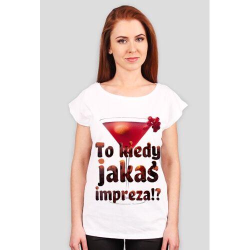 BlackRabbit Drink bar - t-shirt damski