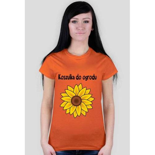 "ArtPasje Koszulka ""do ogrodu"" - słonecznik"
