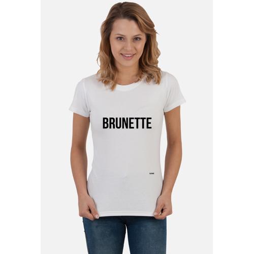 blondebrunette Tshirt brunette