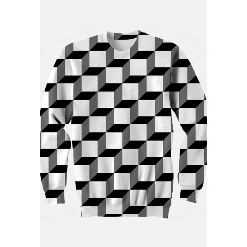abstrakcyjne_wzory Abstrakcja geometria matematyka kwadrat 3d