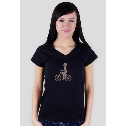 yaqto Kobieta na rowerze