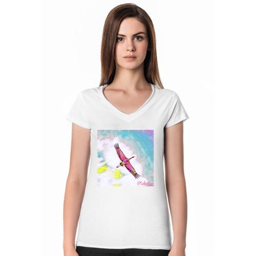 Ptakowo Damska żuraw