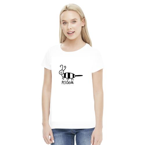 zwierzatka Pciółka - dla niej - biała koszulka