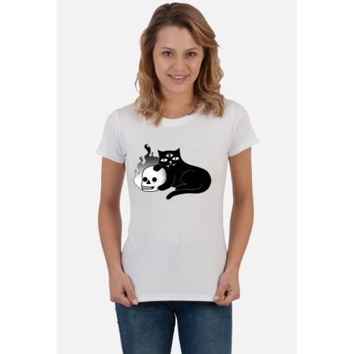 berrycat Skull and cat
