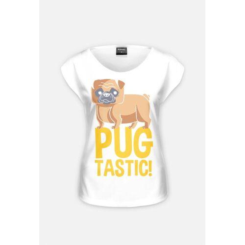 kobiecy Koszulka - pug tastic - odzież tylko dla kobiet, sukienki, tuniki, podkoszulki