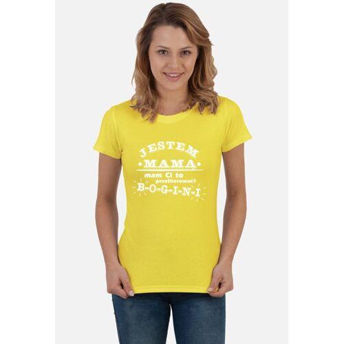 "cool-koszulki Koszulka ""jestem mamą, mam ci to przeliterować? - bogini"""