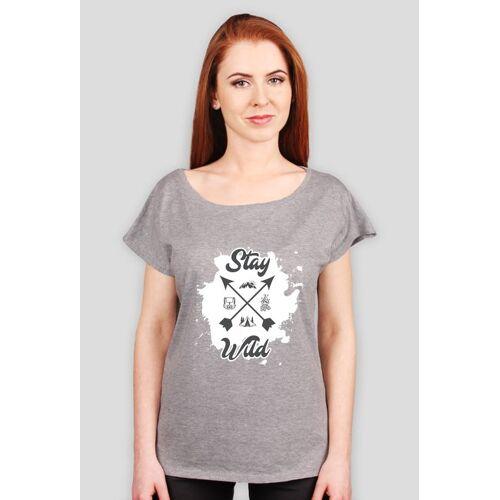 gory-wspinanie-outdoor Koszulka damska stay wild