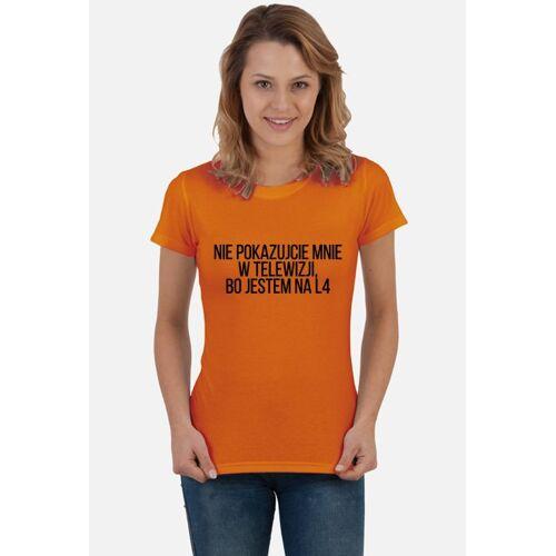 shortcut L4 damska koszulka festiwalowa