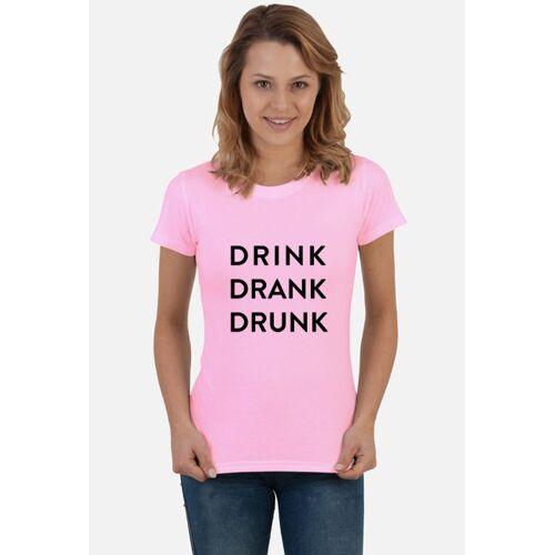 shortcut Drink damska koszulka festiwalowa