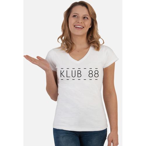 pochodnia T-shirt damski klub 88